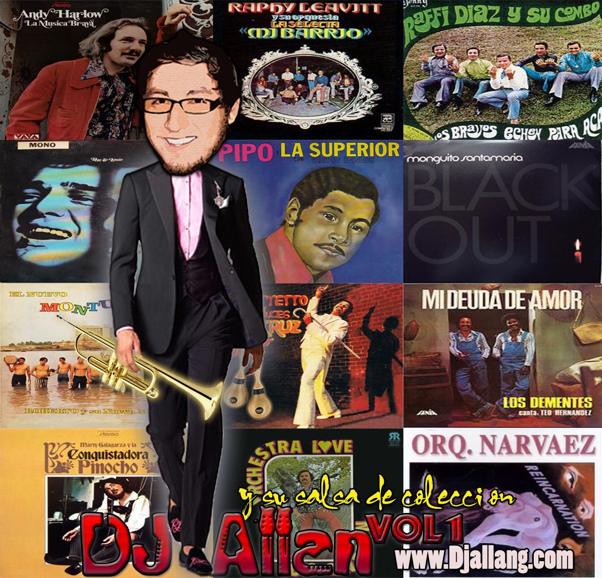Dj Allan y su salsa de coleccion Vol1 Frontal